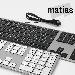 Gagnez l'un des 4 claviers Matias en aluminium ultra précis pour Mac!