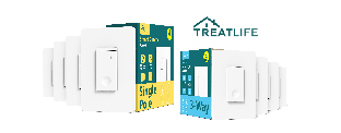 Gagnez un kit d'interrupteur intelligent Treatlife pour automatiser votre éclairage!