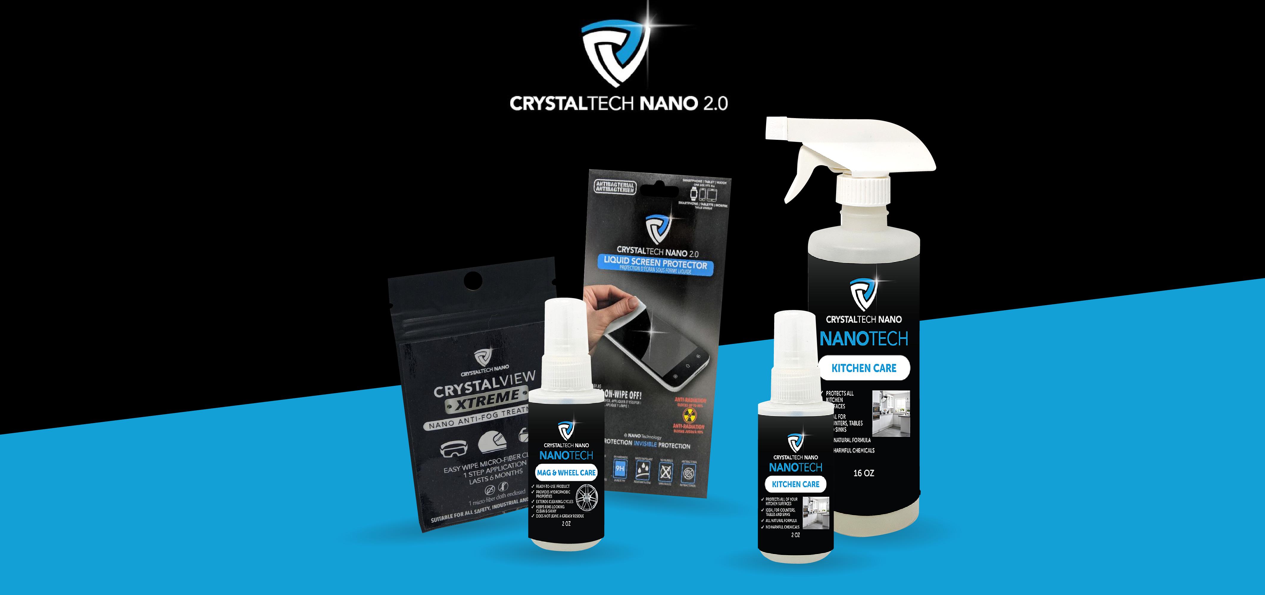 Gagnez un ensemble de produits Crytaltech Nano pour tout protéger à la maison