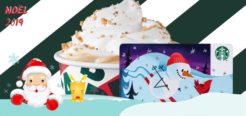 Gagnez l'une des dix cartes cadeaux de 25$ chez Starbucks et faites le plein d'énergie!