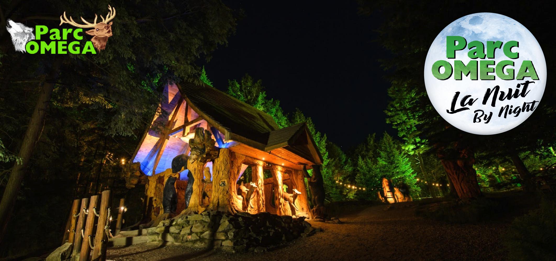 Gagnez un laissez-passer familial pour le Parc Omega et leur nouvelle attraction de nuit!