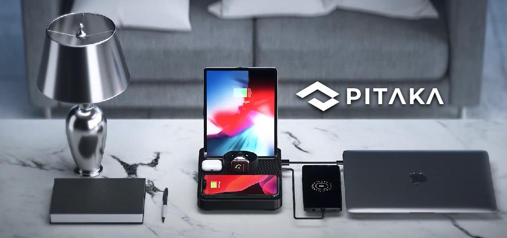 Gagnez une station de recharge 6 en 1 de Pitaka pour charger tous vos appareils Apple!