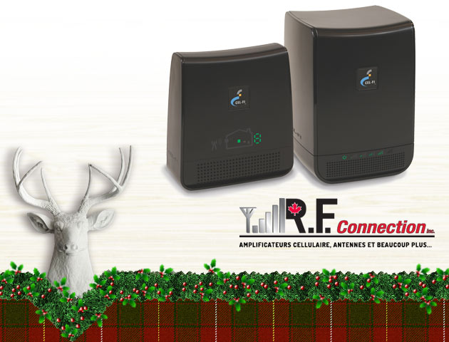 Gagnez un amplificateur de signal Cel-Fi pour cellulaire!