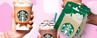 Gagnez l'une des 4 cartes-cadeaux de 50$ chez Starbucks!