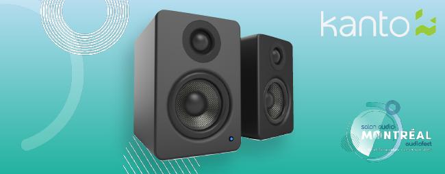 Gagnez des haut-parleurs pour le bureau Kanto YU2 grâce au Salon Audio de Montréal!