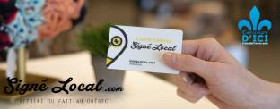 Gagnez l'une des trois cartes-cadeaux de 100$ pour magasiner chez Signé Local!