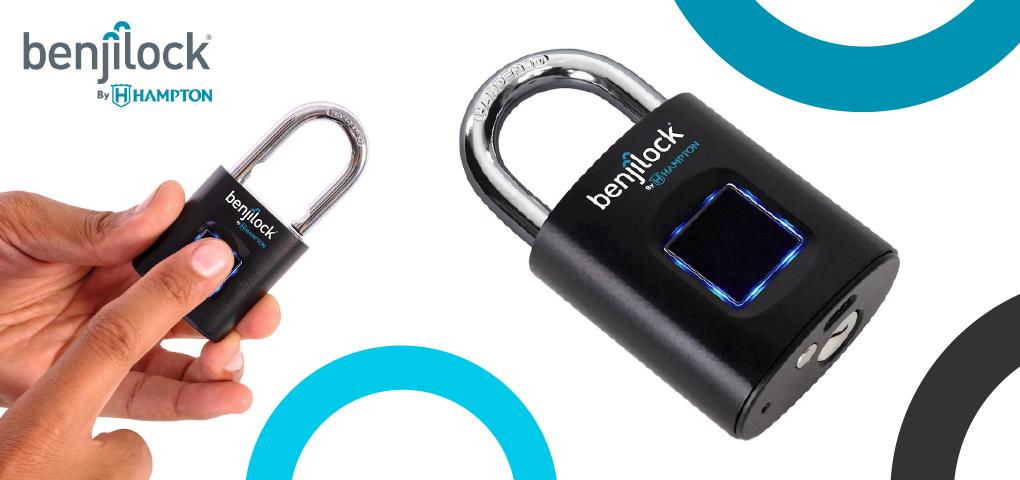Gagnez l'un des deux cadenas BenjiLock à technologie d'empreinte digitale!
