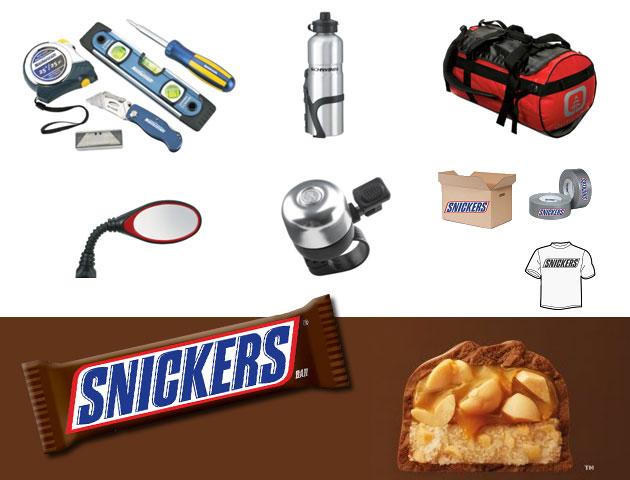 Gagnez un sac-cadeau S.O.S. Snickers!