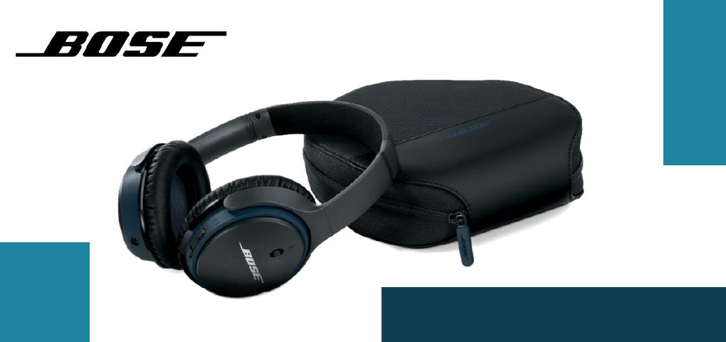 Gagnez une paire d'écouteurs Bose et laissez-vous porter par sa performance de renom!