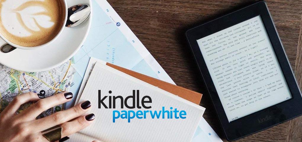 Gagnez une liseuse Kindle Paperwhite pour lire n'importe où et n'importe quand!