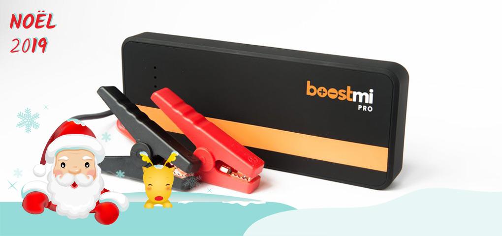 Gagnez un Boostmi Pro pour survolter votre voiture et recharger votre téléphone!