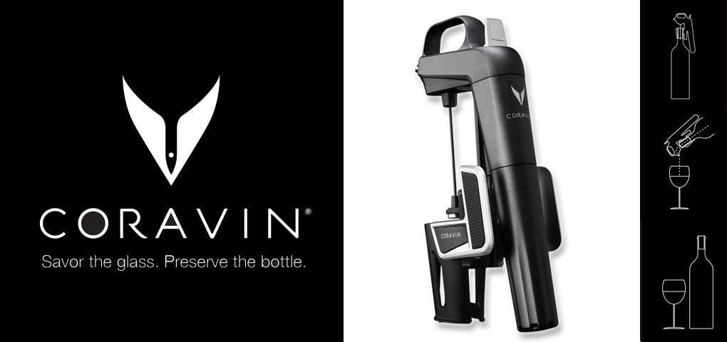 Gagnez un appareil Coravin pour ouvrir du vin sans retirer le liège