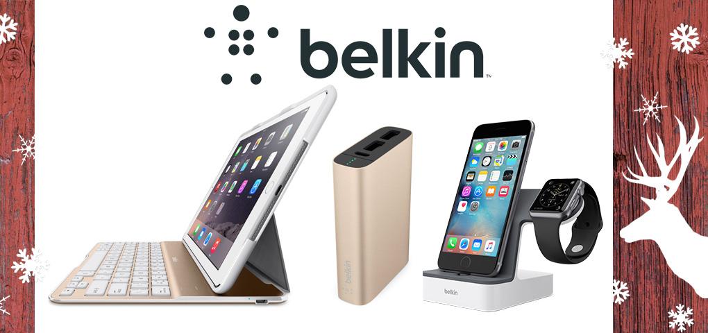 Gagnez un trio d'accessoires Belkin pour votre iPhone, iPad et Apple Watch!