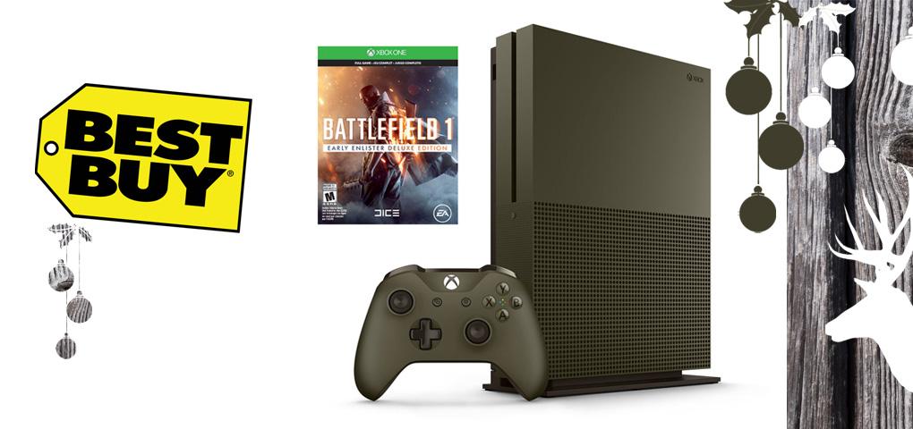 Gagnez l'ensemble Halo Battlefield 1 avec une Xbox One S!