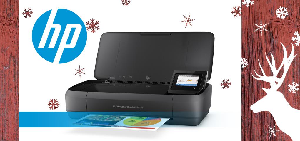 Imprimez peu importe où vous êtes avec cette imprimante sans fil HP!