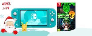 Courez la chance de gagner une console Nintendo Switch Lite et le jeu Luigi's Mansion 3!