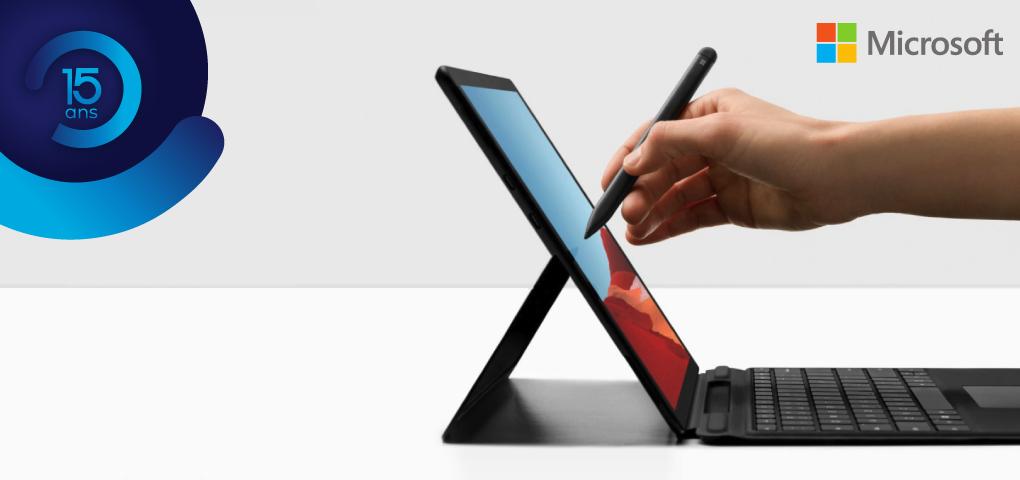 Gagnez la puissante Surface Pro X de Microsoft et son ensemble clavier/crayon signature!
