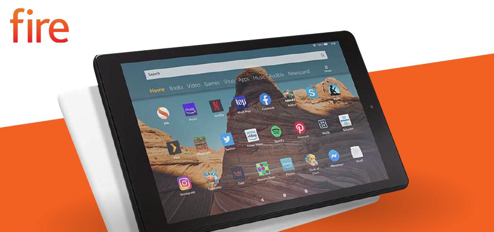 Gagnez la tablette d'Amazon Fire HD 10, parfaite pour se divertir quotidiennement!