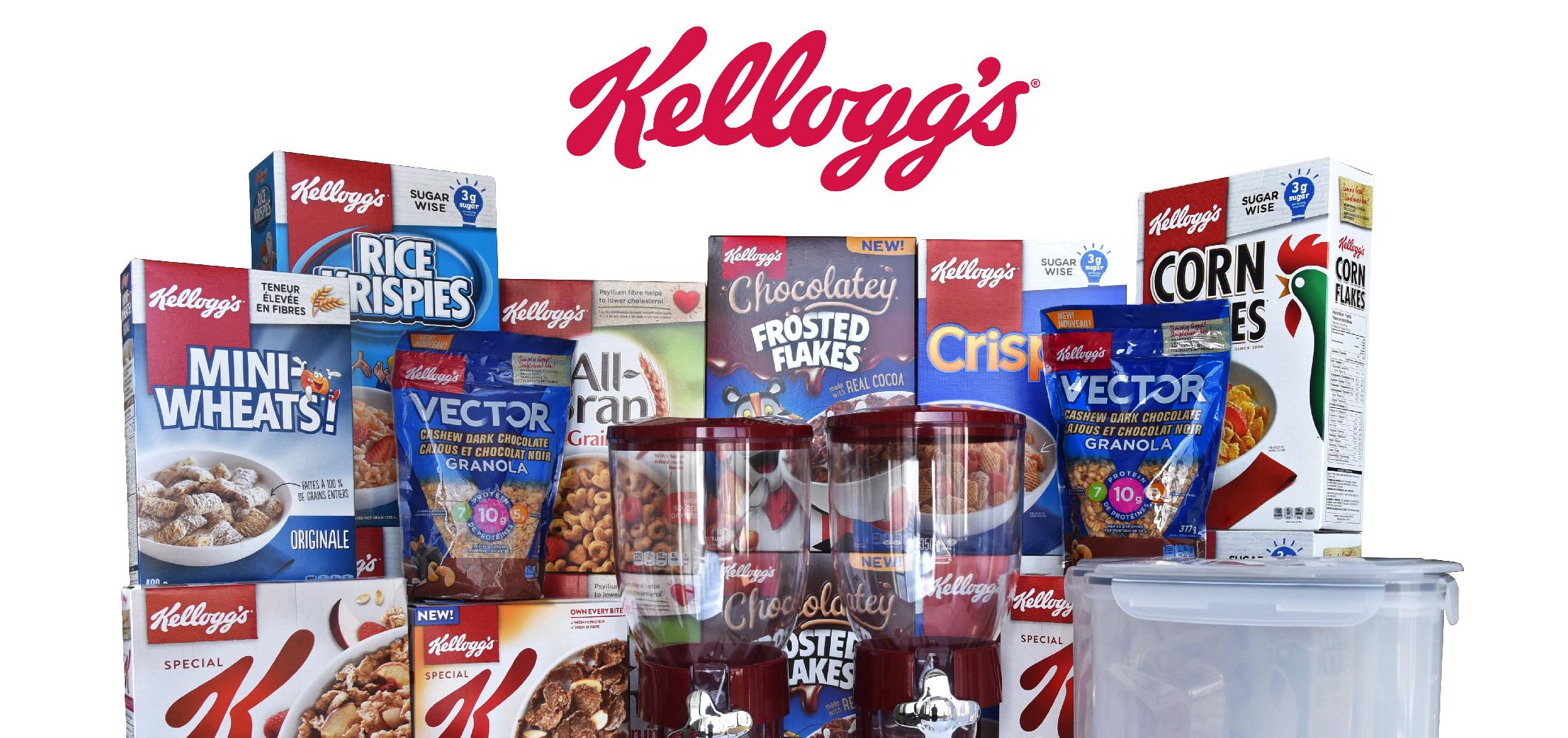 Gagnez un ensemble ultime pour amateurs de céréales Kellog's