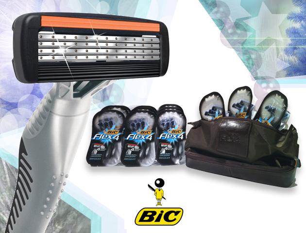 Gagnez un panier-cadeau rempli de BIC Flex4!