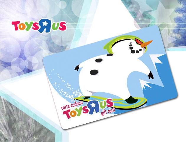 Gagnez 500$ chez Toys''R''Us!