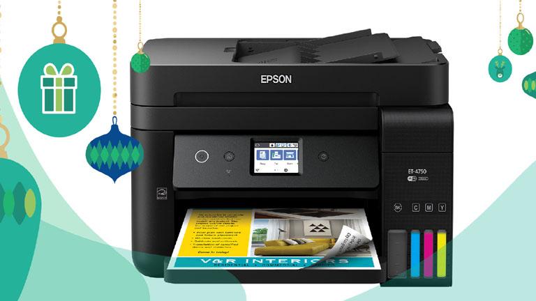 Gagnez une belle imprimante multifonctions de Epson et imprimez des tonnes de documents