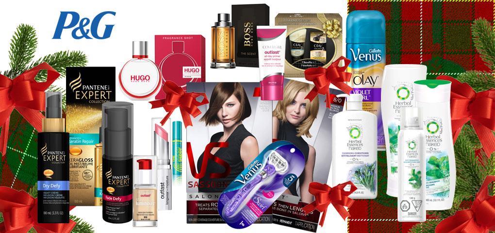 Gagnez un ensemble-cadeau comprenant plusieurs produits de beauté Procter and Gamble!