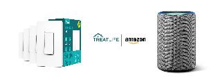 Gagnez un assistant vocal Echo d'Amazon et un paquet d'interrupteurs intelligents de Treatlife!