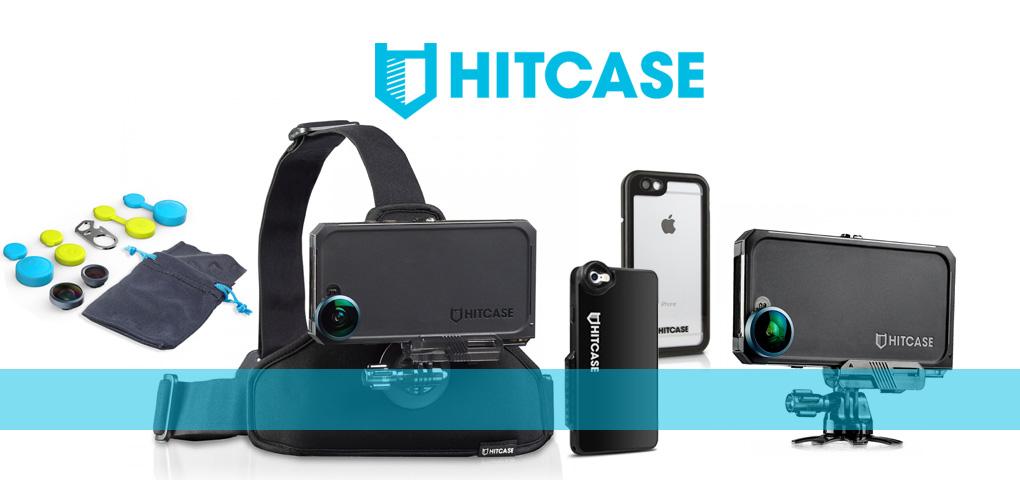 Transformez votre iPhone en caméra sportive grâce aux accessoires Hitcase