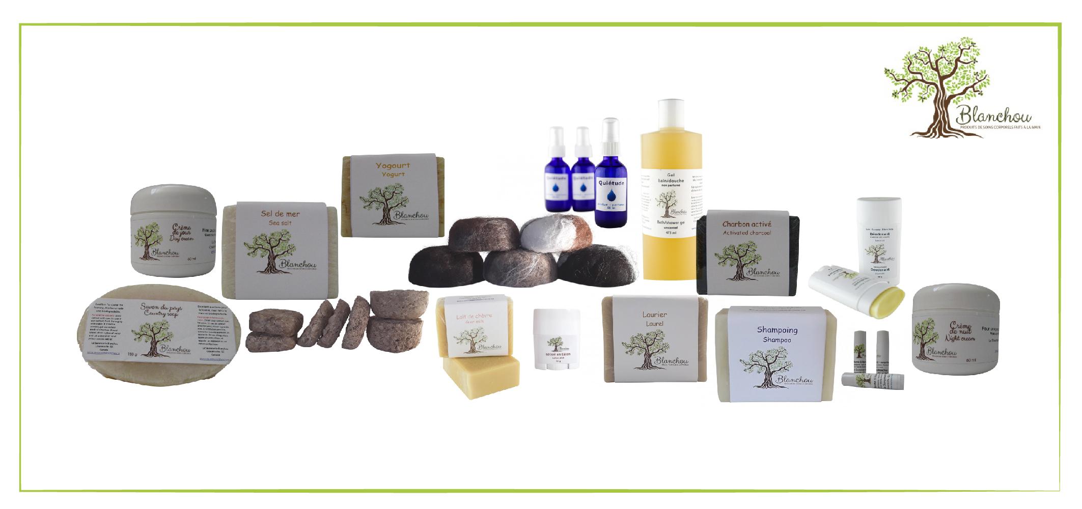 Gagnez un ensemble de produits naturels pour le corps de la Savonnerie Blanchou