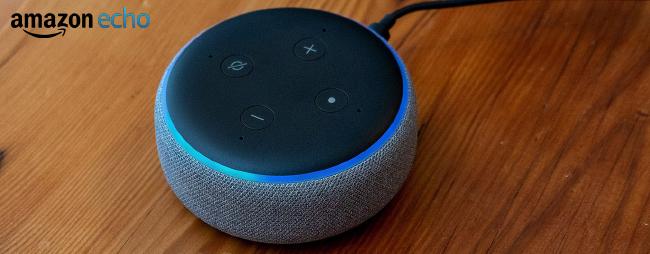 Gagnez le discret petit assistant vocal Echo Dot d'Amazon!