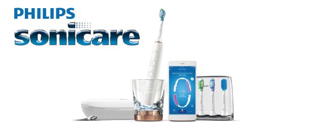 Gagnez une brosse à dents intelligente Sonicare de Philips!